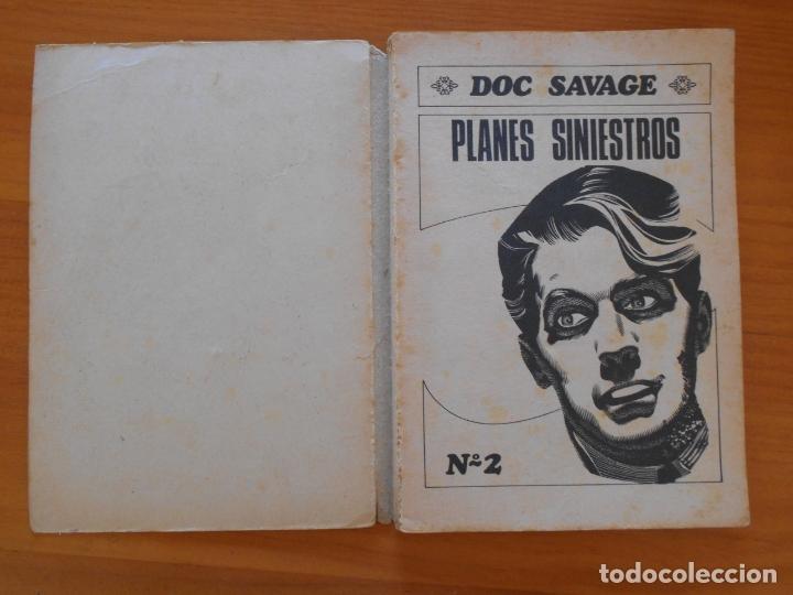 Tebeos: DOC SAVAGE Nº 2 - PLANES SINIESTROS - COLECCION RAY NORTON - ROLLAN (6T) - Foto 2 - 177376527