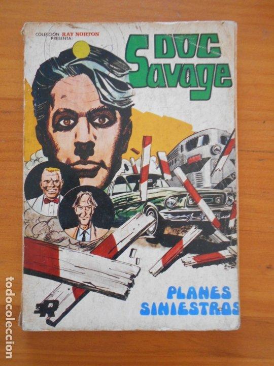 DOC SAVAGE Nº 2 - PLANES SINIESTROS - COLECCION RAY NORTON - ROLLAN (6T) (Tebeos y Comics - Rollán - Otros)