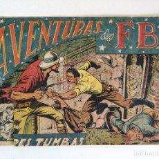 Tebeos: AVENTURAS DEL FBI Nº 22 - TRES TUMBAS - ORIGINAL - (EDITORIAL ROLLAN 1958). Lote 177714855