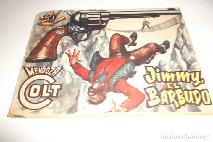 JIMMY EL BARBUDO - MENDOZA COLT - Nº 74 - EDITORIAL ROLLÁN - 1955 (Tebeos y Comics - Rollán - Mendoza Colt)