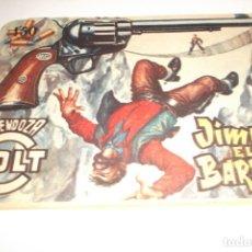 Tebeos: JIMMY EL BARBUDO - MENDOZA COLT - Nº 74 - EDITORIAL ROLLÁN - 1955. Lote 178058188