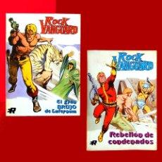 Tebeos: ROCK VANGUARD - LOTE; Nº 1 Y 3, EJEMPLARES TACO, EDIT. ROLLAN, S.A. 1974-DIFÍCILES EN ESTE ESTADO. Lote 178329692