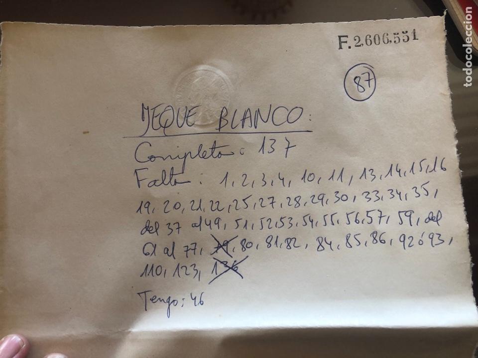 Tebeos: JEQUE BLANCO - lote de 46 cómics - Foto 3 - 178568545