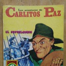 Tebeos: LAS AVENTURAS DE CARLITOS PAZ - SERIE ROJA Nº 13 - COMICS ROLLÁN. Lote 178569261