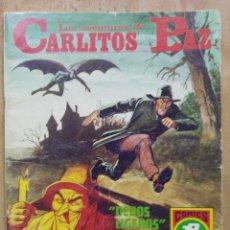 Tebeos: LAS AVENTURAS DE CARLITOS PAZ - SERIE ROJA Nº 14 - COMICS ROLLÁN. Lote 178569368