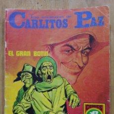 Tebeos: LAS AVENTURAS DE CARLITOS PAZ - SERIE ROJA Nº 15 - COMICS ROLLÁN. Lote 178569422
