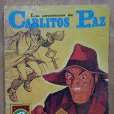Tebeos: LAS AVENTURAS DE CARLITOS PAZ - SERIE ROJA Nº 19 - COMICS ROLLÁN. Lote 178569498