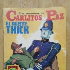 Tebeos: LAS AVENTURAS DE CARLITOS PAZ - SERIE ROJA Nº 20 - COMICS ROLLÁN. Lote 178569610