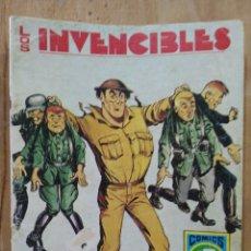 Tebeos: LOS INVENCIBLES - SERIE AZUL Nº 4 - COMICS ROLLÁN. Lote 178570088