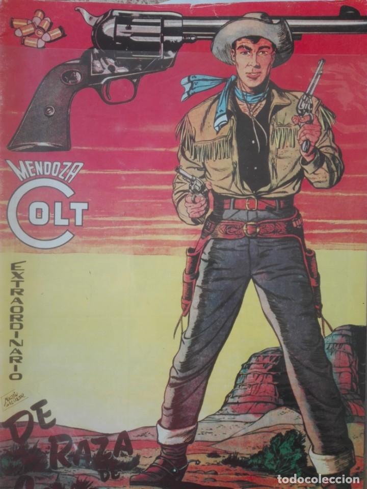 MENDOZA COLT EXTRAORDINARIO DE RAZA DE CONQUISTADORES-MUY DIFÍCIL# Y4 (Tebeos y Comics - Rollán - Mendoza Colt)