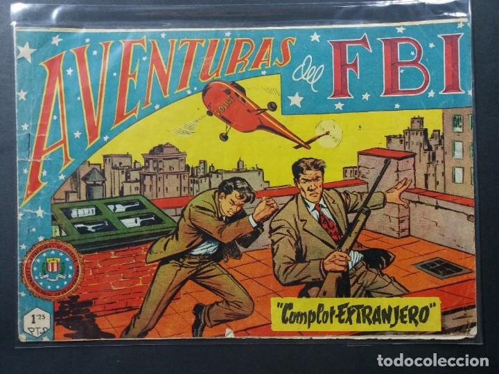 AVENTURAS DEL F B I Nº 160 (Tebeos y Comics - Rollán - FBI)