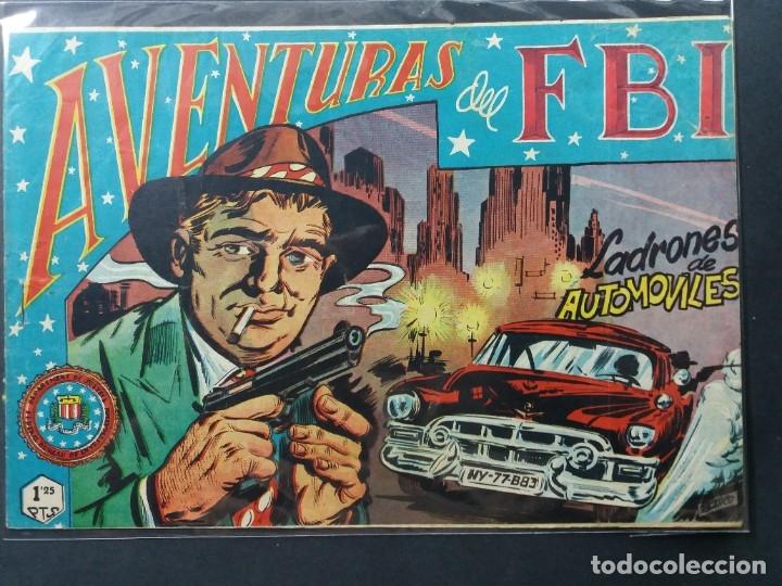 AVENTURAS DEL F B I Nº 154 (Tebeos y Comics - Rollán - FBI)