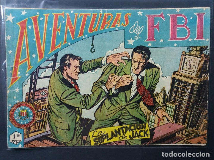AVENTURAS DEL F B I Nº 157 (Tebeos y Comics - Rollán - FBI)