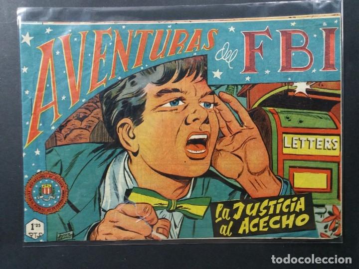AVENTURAS DEL F B I Nº 165 (Tebeos y Comics - Rollán - FBI)