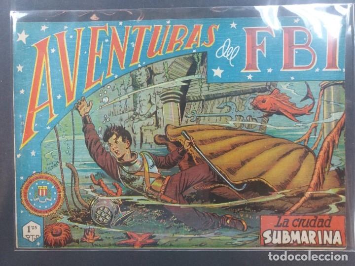 AVENTURAS DEL F B I Nº 53 (Tebeos y Comics - Rollán - FBI)