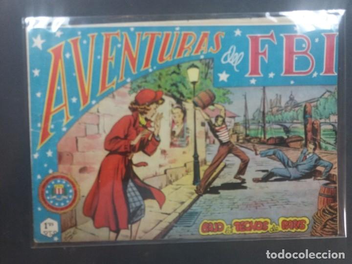 AVENTURAS DEL F B I Nº 48 (Tebeos y Comics - Rollán - FBI)