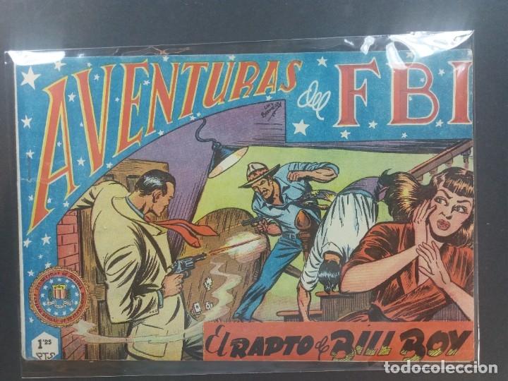 AVENTURAS DEL F B I Nº 14 (Tebeos y Comics - Rollán - FBI)