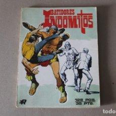 Tebeos: BATIDORES INDOMITOS. RETAPADO CON 2 NUMEROS COMPLETOS - EDITORIAL ROLLAN 1973. Lote 179186763