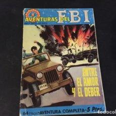 Tebeos: NOVELA GRAFICA COMIC AVENTURAS DEL FBI ENTRE EL AMOR Y EL DEBER . Lote 179343558