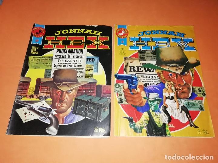 JONNAH HEX. NUMEROS 2 Y 3. EDICIONES ROLLAN SERIE ROJA. GRAPA. (Tebeos y Comics - Rollán - Series Rollán (Azul, Roja, etc))