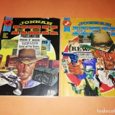 Tebeos: JONNAH HEX. NUMEROS 2 Y 3. EDICIONES ROLLAN SERIE ROJA. GRAPA.. Lote 180443375