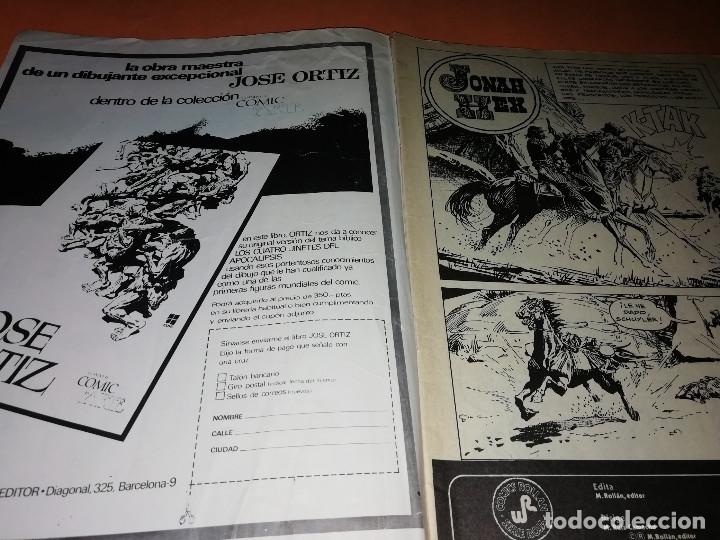 Tebeos: JONNAH HEX. NUMEROS 2 Y 3. EDICIONES ROLLAN SERIE ROJA. GRAPA. - Foto 3 - 180443375