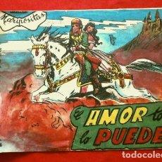 Tebeos: EL AMOR TODO LO PUEDE (ORIGINAL 1958) (RARO) COL. MARIPOSITAS - ED. ROLLAN (DIFICIL DE ENCONTRAR). Lote 181686536