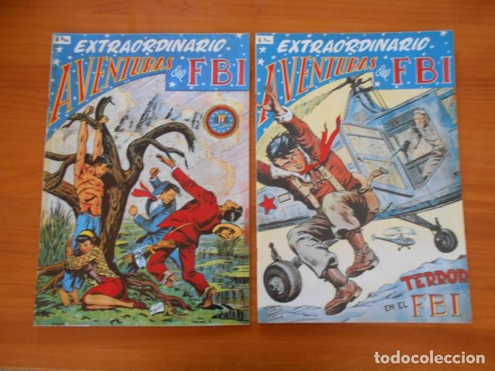 Tebeos: EXTRAORDINARIO DE AVENTURAS DEL FBI COMPLETA - REEDICION - 6 NUMEROS - ROLLAN (K2) - Foto 4 - 182256840