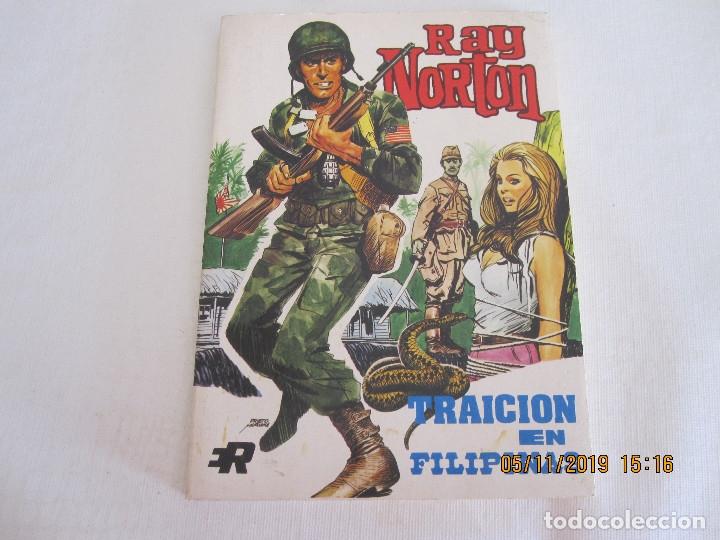 RAY NORTON Nº 2 TRAICION EN FILIPINAS EDI. ROLLAN 1974 (Tebeos y Comics - Rollán - Otros)
