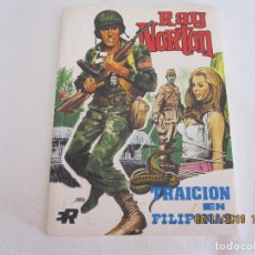 Tebeos: RAY NORTON Nº 2 TRAICION EN FILIPINAS EDI. ROLLAN 1974 . Lote 182302748
