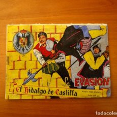 Tebeos: EL HIDALGO DE CASTILLA - Nº 7, LA EVASIÓN - EDITORIAL ROLLÁN 1959. Lote 182598343