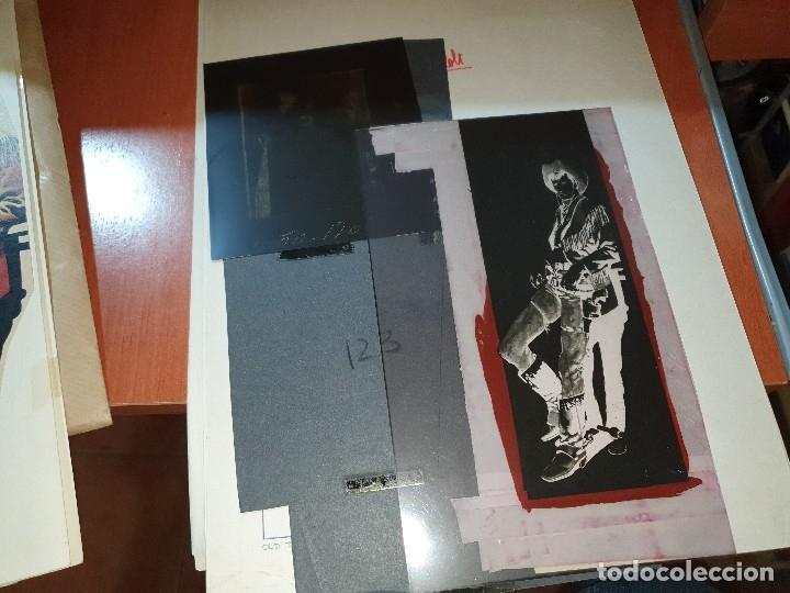 Tebeos: Mendoza colt n° 7, negativos y maqueta del relato old ty y original del texto, numero no publicado - Foto 2 - 182665393