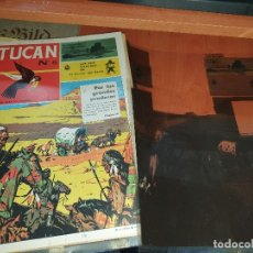 Tebeos: TUCAN N° 6, NEGATIVOS DE LA PORTADA, CONTRAPORTADA E INTERIORES, DEL ARCHIVO DE LA EDITORIAL ROLLAN. Lote 182673240