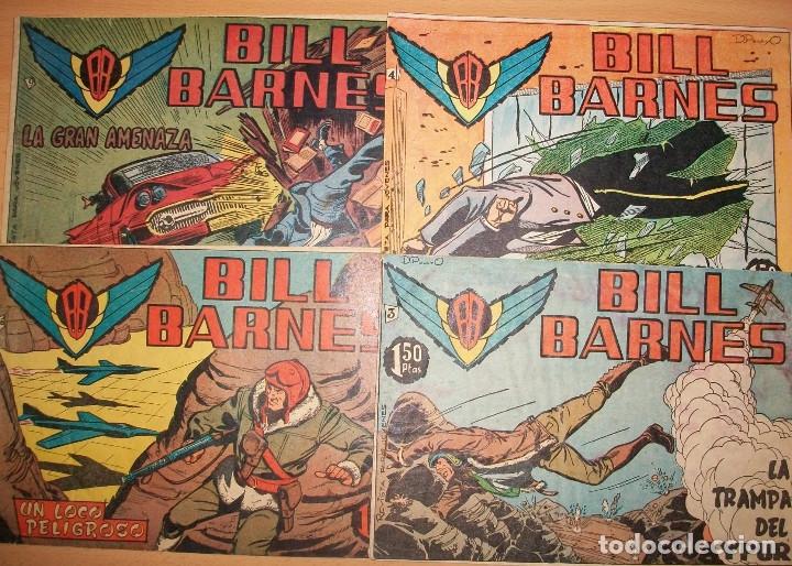 BILL BARNES (ROLLAN) LOTE DE 4 NUMEROS DIFERENTES (Tebeos y Comics - Rollán - Otros)