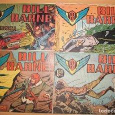Tebeos: BILL BARNES (ROLLAN) LOTE DE 4 NUMEROS DIFERENTES. Lote 182916451