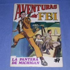 Tebeos: ANTIGUO COMIC AVENTURAS DEL FBI Nº 1 LA PANTERA DE MICHIGAN EDITORIAL ROLLAN AÑO 1974 ORIGINAL. Lote 183170372
