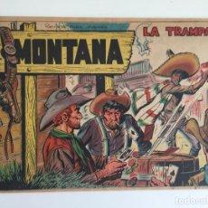Tebeos: MONTANA Nº 8 - ROLLAN, ORIGINAL - GCH. Lote 183675938