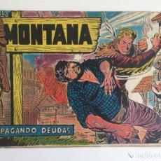 Tebeos: MONTANA Nº 9 - ROLLAN, ORIGINAL - GCH. Lote 183675996