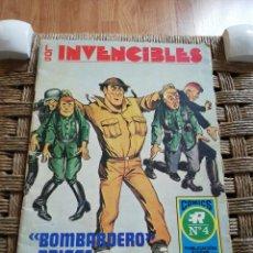 Tebeos: LOS INVENCIBLES BOMBARDERO BRIGGS N.4. Lote 183910675