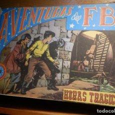 Tebeos: 24 COMICS ENCUADERNADOS - AVENTURAS DEL FBI - Nº 49 AL 72 EDITORIAL ROLLAN 1958 . Lote 183915641
