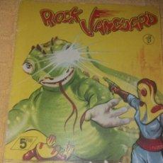 Tebeos: ROCK VANGUARD.NUMERO 12.EN PODER DE LOS CIENTIFICOS .ROLLAN 1958. Lote 184095231