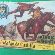 Tebeos: EL HIDALGO DE CASTILLA - LOTE DE LOS NUMEROS (1, 3 6, 7). Lote 184372311