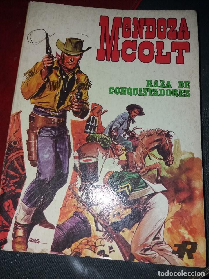 MENDOZA COLT.NUMERO 1.ROLLAN.1974 (Tebeos y Comics - Rollán - Mendoza Colt)