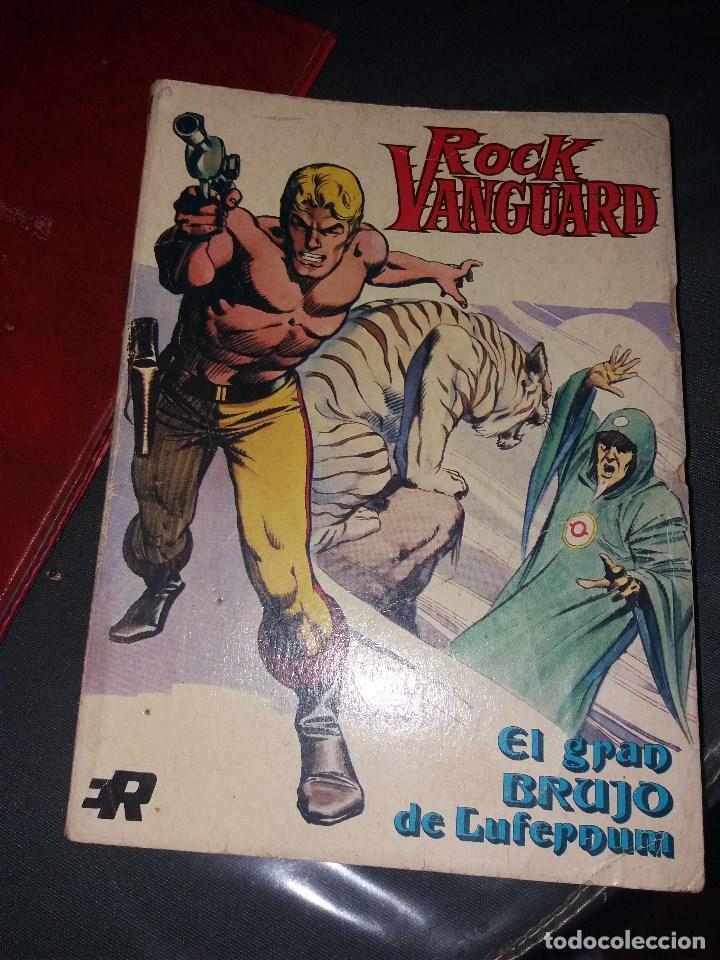 ROCK VANGUARD.NUMERO 1.ROLLAN 1974 (Tebeos y Comics - Rollán - Rock Vanguard)