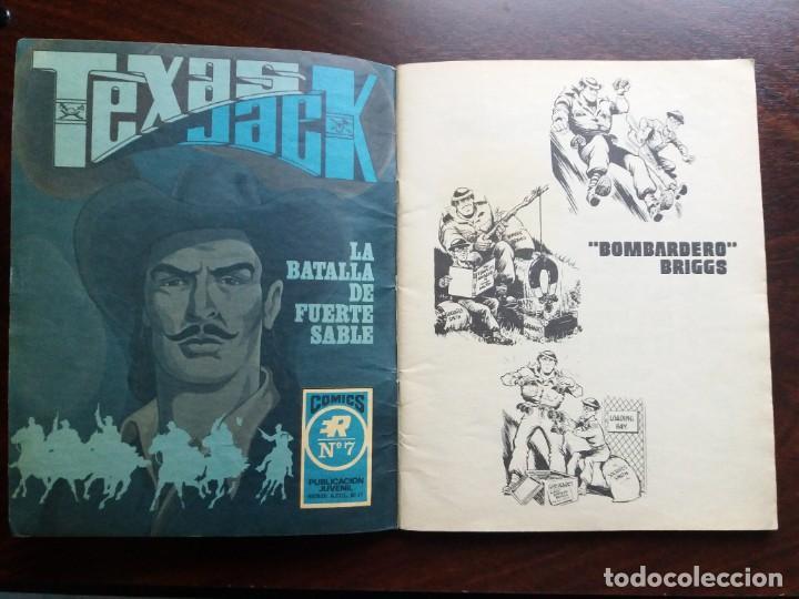 Tebeos: LOS INVENCIBLES. Nº 4. BOMBARDERO BRIGGS. EDITORIAL ROLLAN. 1973. - Foto 3 - 184710596