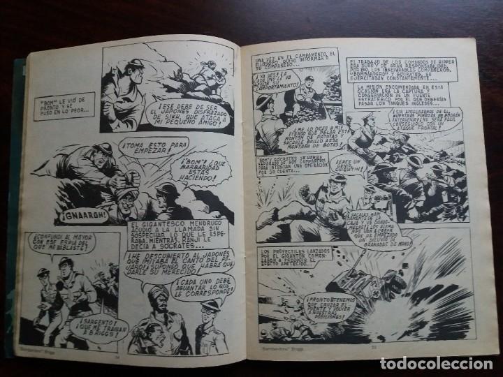 Tebeos: LOS INVENCIBLES. Nº 4. BOMBARDERO BRIGGS. EDITORIAL ROLLAN. 1973. - Foto 4 - 184710596