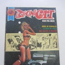 Tebeos: BIKINI CAT Nº 1 - SERIE ROJA - ROLLAN - 1977 - 48 PÁGINAS CS201. Lote 184781845