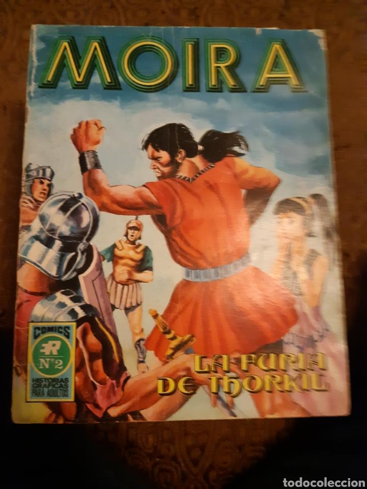 TEBEOS-CÓMICS CANDY - MOIRA 2 ÚLTIMO- ROLLAN - RARO - AA98 (Tebeos y Comics - Rollán - Series Rollán (Azul, Roja, etc))