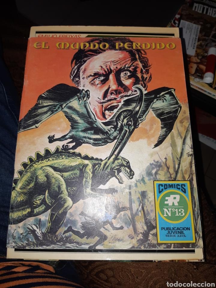TEBEOS-CÓMICS CANDY - EL MUNDO PERDIDO 13 - ROLLAN - AA98 (Tebeos y Comics - Rollán - Series Rollán (Azul, Roja, etc))