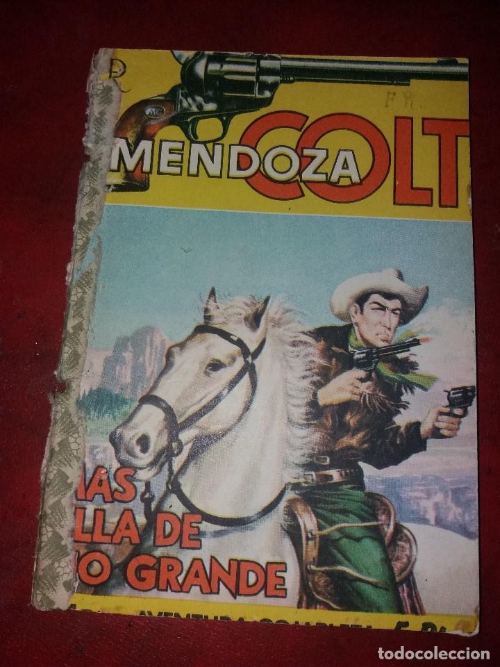 MENDOZA COLT.NUMERO 20.NOVELA GRAFICA.EDITORIAL ROLLAN (Tebeos y Comics - Rollán - Mendoza Colt)